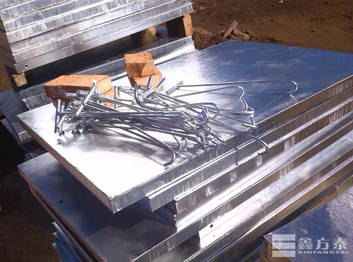 镀锌钢格板踏步板(半成品)