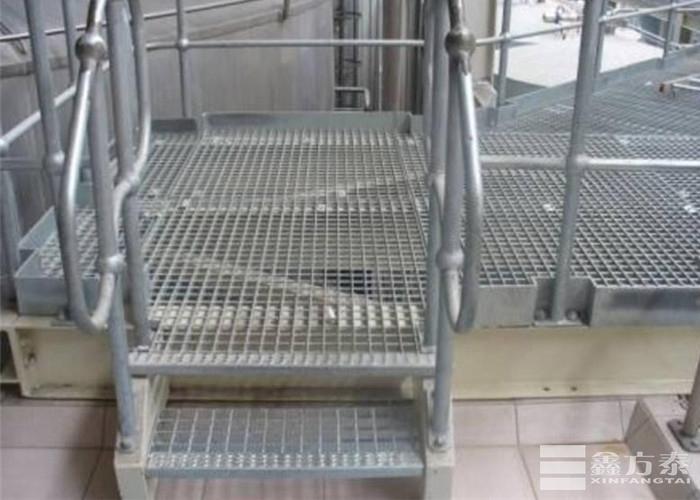平台踏步板带扶手